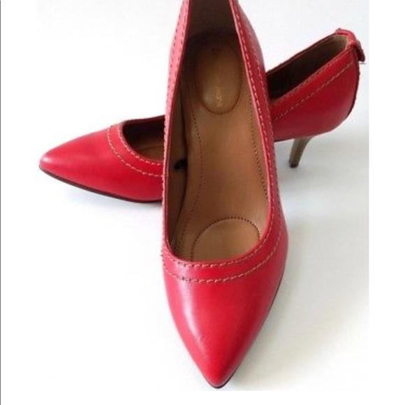 Calvin Klein Kaleigh Heels In Red